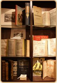 Antiquarische Bücher in der Buchhandlung Gebecke